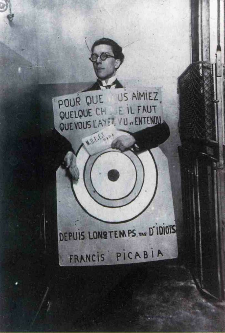 Breton quoting Picabia