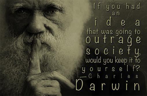 Darwin's Shhh...